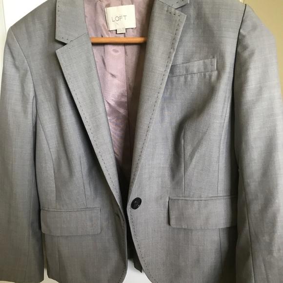 LOFT Jackets & Blazers - Gray blazer